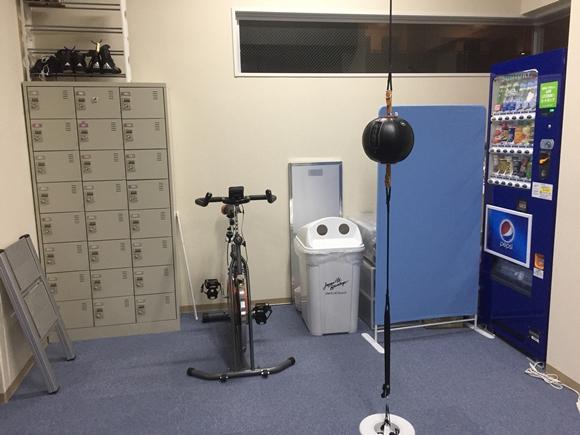 湘南藤沢ボクシングフィットネスジムの設備