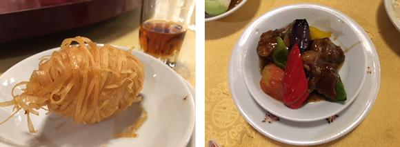 福臨閣のコース料理2