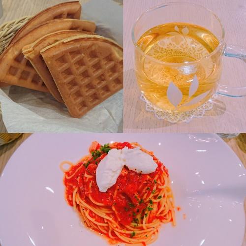 マザーリーフスカイビル店の料理