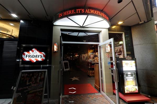 フライデーズ横浜店